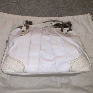 Marc Jacobs Bowler Bag in white